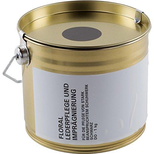 Lederpflege Imprägniermittel schwarz, 1 kg Eimer (auch in der 125 ml Tube erhältlich)