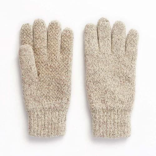 HOT SHOT Men's Ragg Wool Full Finger Gloves –...