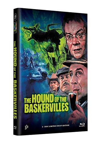 SHERLOCK HOLMES - DER HUND VON BASKERVILLE - Grosse Hartbox Cover A [Blu-ray] Limited 33 Edition - Uncut