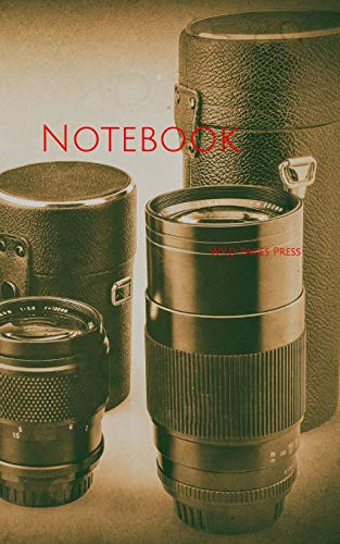 Notebook: lenses analog old camera photo photograph lens lenses photos photography cameras