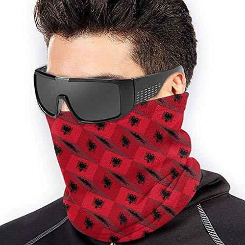 air kong Albania Stereo 3D Mode Scarf Neck Gaiter Magic Headband Balaclava Hood Unisex Mask Bandana Winter Warm Headwear