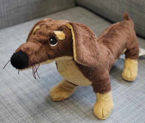 IKEA Dackel Hund Kuscheltier - Stofftier - Plüschtier - Smaslug