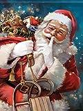 Puzzle 1000 piezas Santa decora regalos puzzle 1000 piezas clementoni Rompecabezas de juguete de descompresión intelectual educativo divertido juego familiar para niños adulto50x75cm(20x30inch)