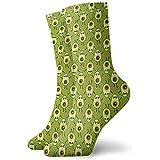Tammy Jear Calcetines deportivos Calcetines divertidos ocasionales cómodos Cute Cartoon Avocado Crew