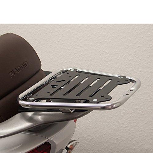 Porte-bagages arrière chromé pour MP3 500 M861 – Sport 14–16