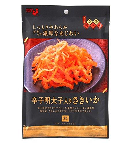 井上食品 umi no sachi 粋 辛子明太子りさきいか 4971423600015 51G×10個