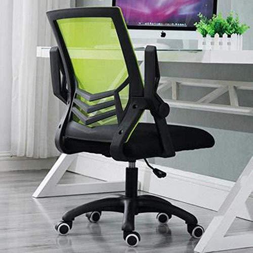 Tische und Stühle Computer Stuhl Stuhl Bürostuhl Büro zu Hause Computer-Gaming-Sessellift rotierender faul,Green