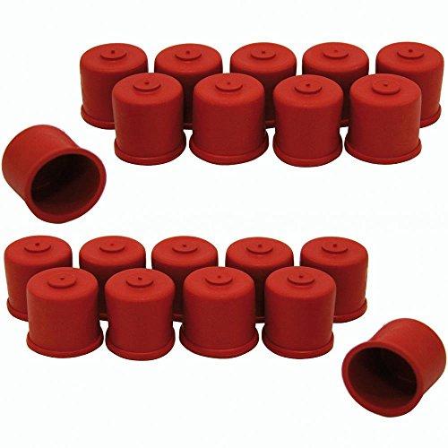 20 Süß- Mostkappen/Verschlüsse für Glasflaschen 0,3 + 0,5 l