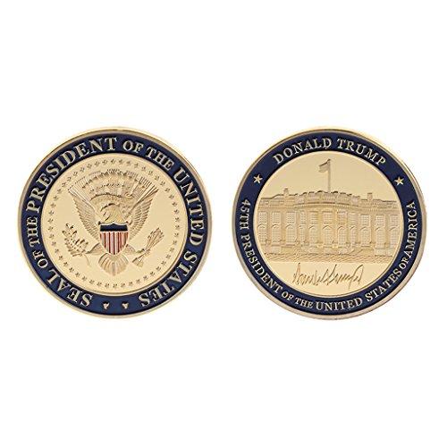Ycncixwd Gedenkmünze zum 45. Geburtstag von Donald Trump