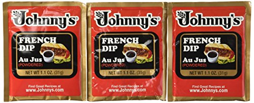 JOHNNY'S French Dip Au Jus (Powdered) - Makes 2 1/2 Cups (6-Pack)