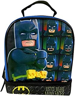 Lego Batman 24,1 cm Double Compartiment Sac à Lunch