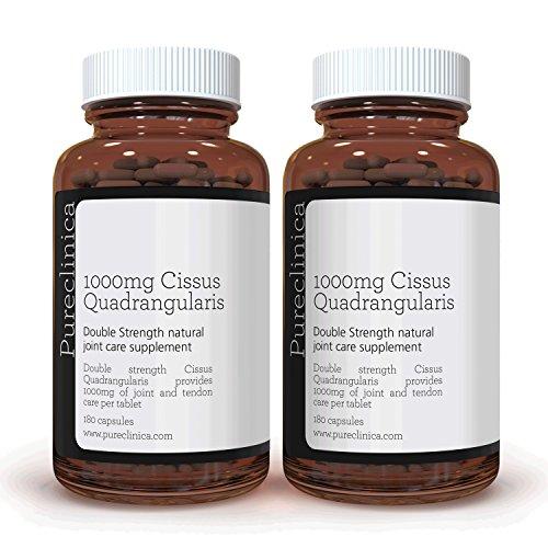 Cissus Quadrangularis Double Force 1000 mg x 360 Gélules Végétariennes