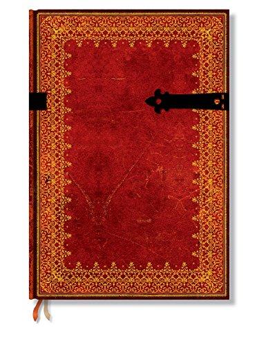 Paperblanks - Faux Leder Gold - Notizbuch Grande Unliniert (Paperblanks: Old Leather)