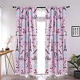 Sapphire Home Kids Girls Window Curtain Panels...