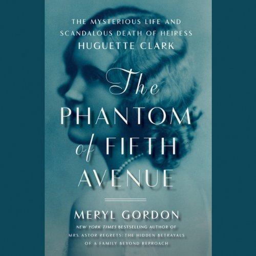 The Phantom of Fifth Avenue audiobook cover art