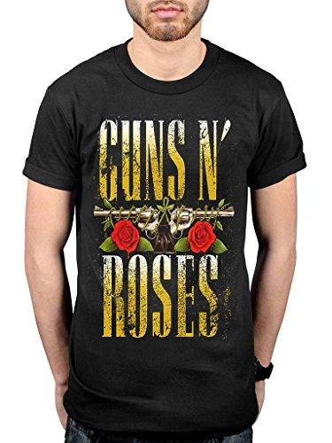 Official Guns N Roses Big Guns T-Shirt