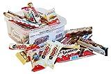 Süßigkeiten – Mix Party Box mit Ferrero Kinder, Duplo & Hanuta Spezialitäten, 1er Pack (1 x...