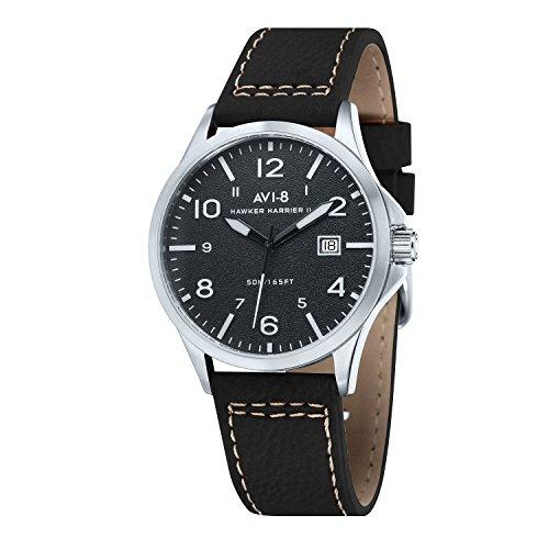 AVI-8 AV-4019-05 - Reloj, de Color Negro