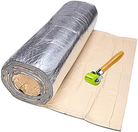 Rich Choices Sound Deadening Heat Shield Insulation Car Noise Blocking Adhesive Mat 80 x 40 product image