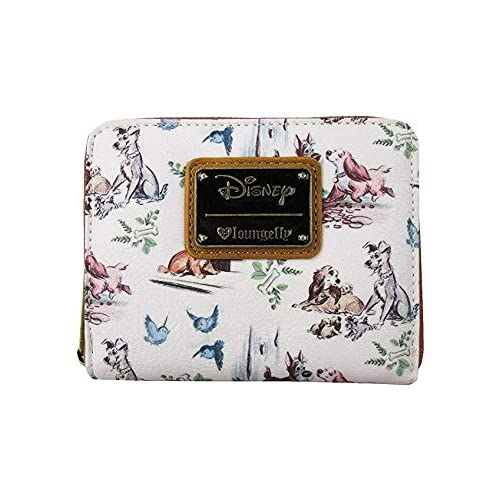 Loungefly x Lady And The Tramp Small Zip-Around Wallet