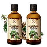 Aceite Esencial Abeto 200ml - Siberiano - 2x100ml - Abies Sibirica - Rusia - 100%...