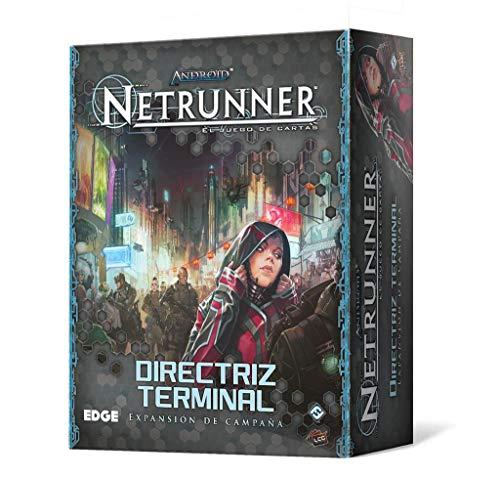 Fantasy Flight Games- Android NETRUNNER LCG: DIRECTRIZ Terminal (FFADN42)