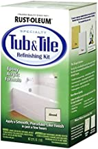 Rust-Oleum Not Available 7861519 Tub and Tile Refinishing 2-Part Kit, Almond