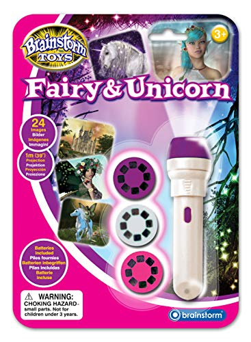Brainstorm Toys Fairy and Unicorn Torch and Projector