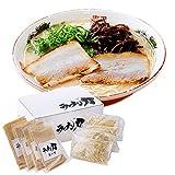 ラーメン とんこつラーメン 【福岡・北九州のご当地ラーメンをお届けします】 豚骨ラーメン お取り寄せグルメ ギフトにも [ラーメン力] 麺とスープの4食セット