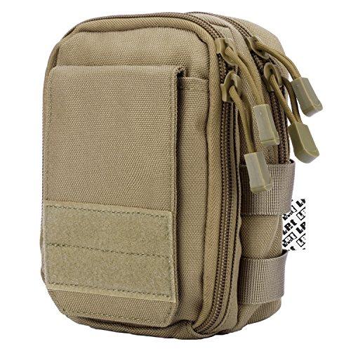 LefRight multipropósito táctico de Molle bolso de la cintura bolsa de la...