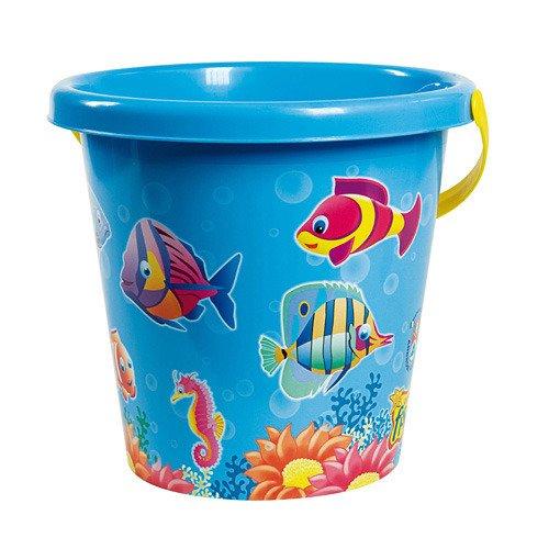 Androni Giocattoli Secchiello Crazy Fish D.22, Colore Blue, 310