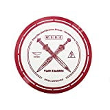 Yikun Professional Disc Golf Twin Swords |Distance Driver |170-172g| Perfect for Outdoor Games and Competition|Red