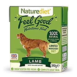 NUTRITIONALLY BALANCED - This complete and nutritionally balanced natural dog food contains all the essential nutrients your dog needs for a healthy diet. Made with freshly prepared Lamb and wholefoods. 100% NATURAL INGREDIENTS FOR GENTLE DIGESTION -...