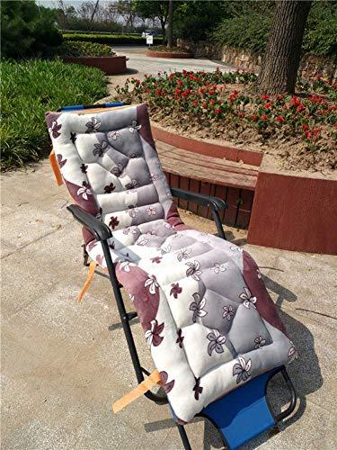 ZGYQGOO Coussin Chaise Longue extérieur, Coussins Chaise Patio, Coussins Chaise transat, Matelas Chaise Longue pour canapé Jardin, Banc Voiture Tatami (Coussin Uniquement) -g 52x160cm (20x63inch)