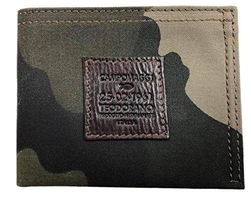 CAMPOMAGGI Geldbörse Canvas Military Camouflage / 7960 F2535