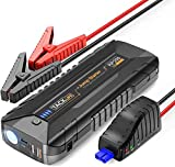 TACKLIFE 2000A Avviatore di Emergenza per motori fino ALL Gas e 7L diesel, Booster Batteria per Auto 12V, Alimentatore Portatile con Quick Charge 3.0 e Porta Type-C