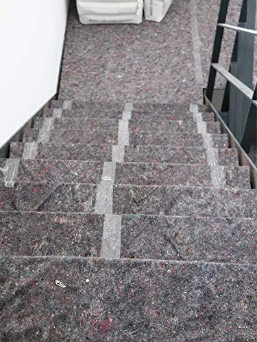 TOP Profi Malervlies Abdeckvlies mit Anti-Rutsch PE Beschichtung 1,00m x 50,00m - 4
