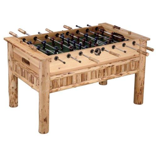 Hot Sale Rush Creek Log Cabin Style Soccer Table