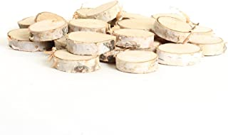 Koyal Wholesale Birch Wedding Disc Rounds, Birch Slices, Real Wood Decorations, Centerpieces, Log Decor (1-2