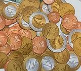 Carpeta Lot de 320 pièces de Monnaie pour Jeu de pièces de 1, 2, 5, 10, 20, 50 Euros + 1 et 2 Euros