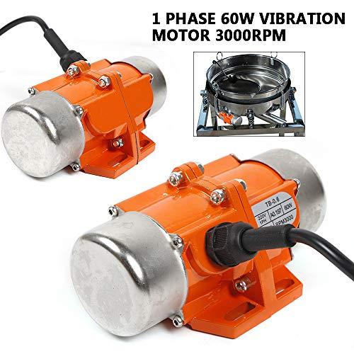 MOMOJA Virbator industrial Virbator Motor 60W 3000 RPM para aplicación en minería, metalurgia, carbón