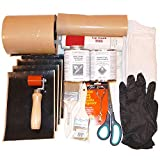 DIY Rubber Roof (EPDM) Repair Kit: Tools + Cleaner + Primer + Flashing Tape - Everything You Need to Fix Rubber Roof