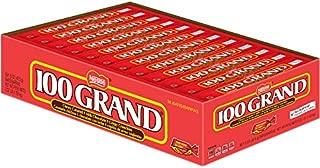 Nestle Milk Chocolate 100 Grand Bars, Full Size Bulk Christmas Candy (Pack of 36), Perfect Stocking Stuffers