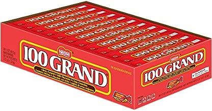 Nestle Milk Chocolate 100 Grand Bars, Full Size Bulk Halloween Candy 1.5 Ounce (Pack of 36)
