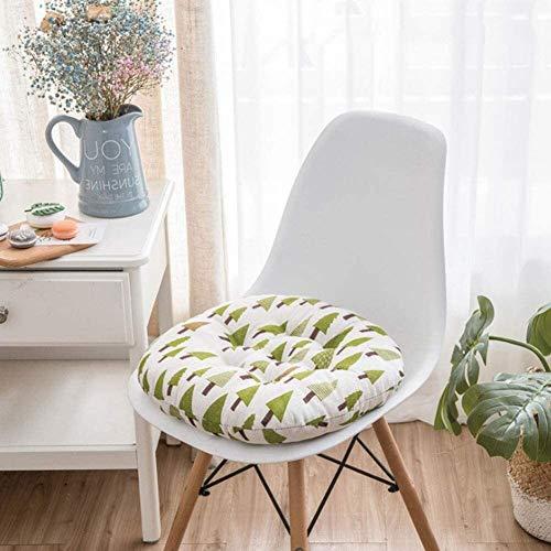 Mirui Cojín Redondo for sillas de Espesar, futón cojín del Asiento Multicolor Oficina de Almohadas Piso de los Asientos del cojín de ratón de la Ventana for la Sala Balcón