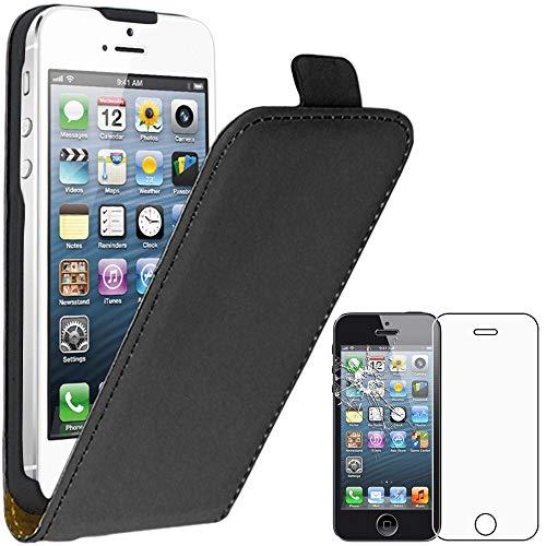 ebestStar - Funda Compatible con iPhone SE 5S 5 Carcasa Abatible PU...