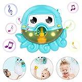 Gifort Seifenblasenmaschine Badewanne, Baby Badewannenspielzeug, Bubble Blase Badespielzeug, Octopus...