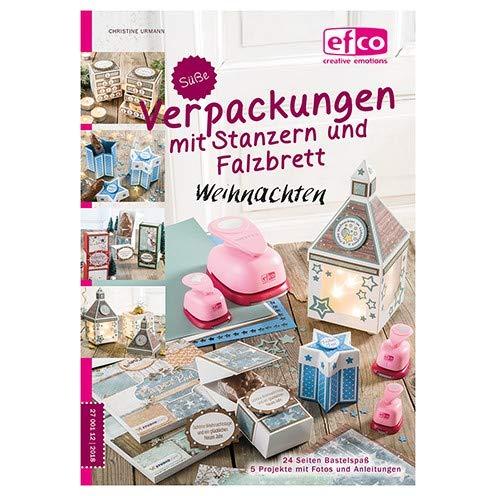 Buch deutsch, Süße Verpackungen Weihnachte, 148 x 210 mm/A 5, 24 Seiten, Christine Urmann