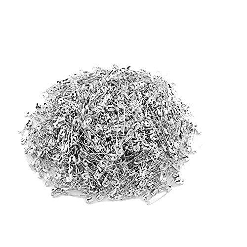 Ogquaton Metall Sicherheitsnadel Kleidung Pins Quilts Sicherheitsnadeln Abschließbare Blanket Pins 1000 Stück
