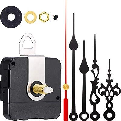 2 Pair Hands Quartz Clock Movement DIY Wall Clock Movement Mechanism Clock Repair Parts Replacement